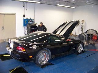Check out the Viper on the dyno